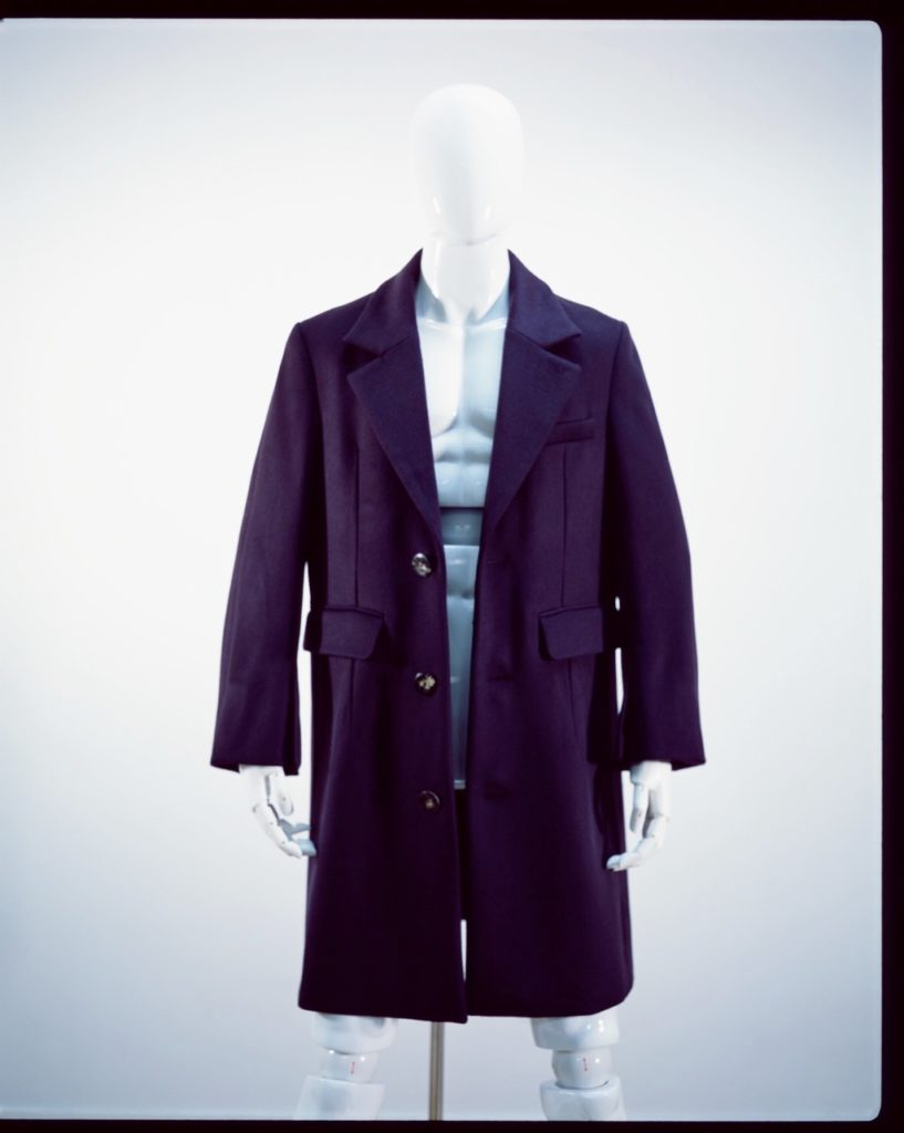 NAMACHEKO FOUR SPLIT COAT PURPLE