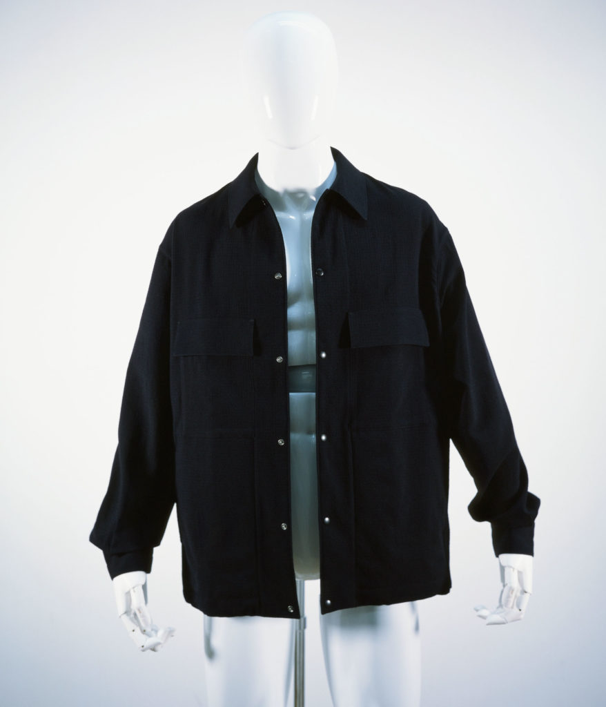 LEMAIRE 4-POCKETS OVER SHIRT MIDNIGHT BLUE