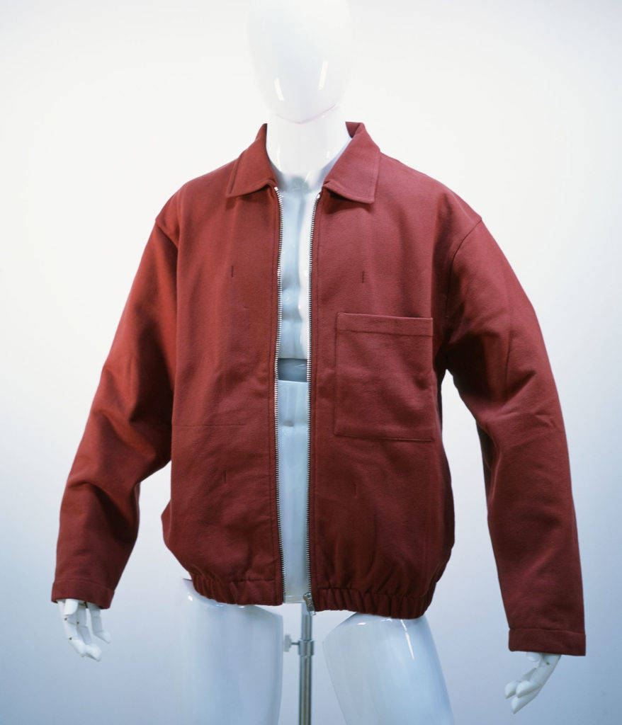 LEMAIRE JERSEY JACKET RED