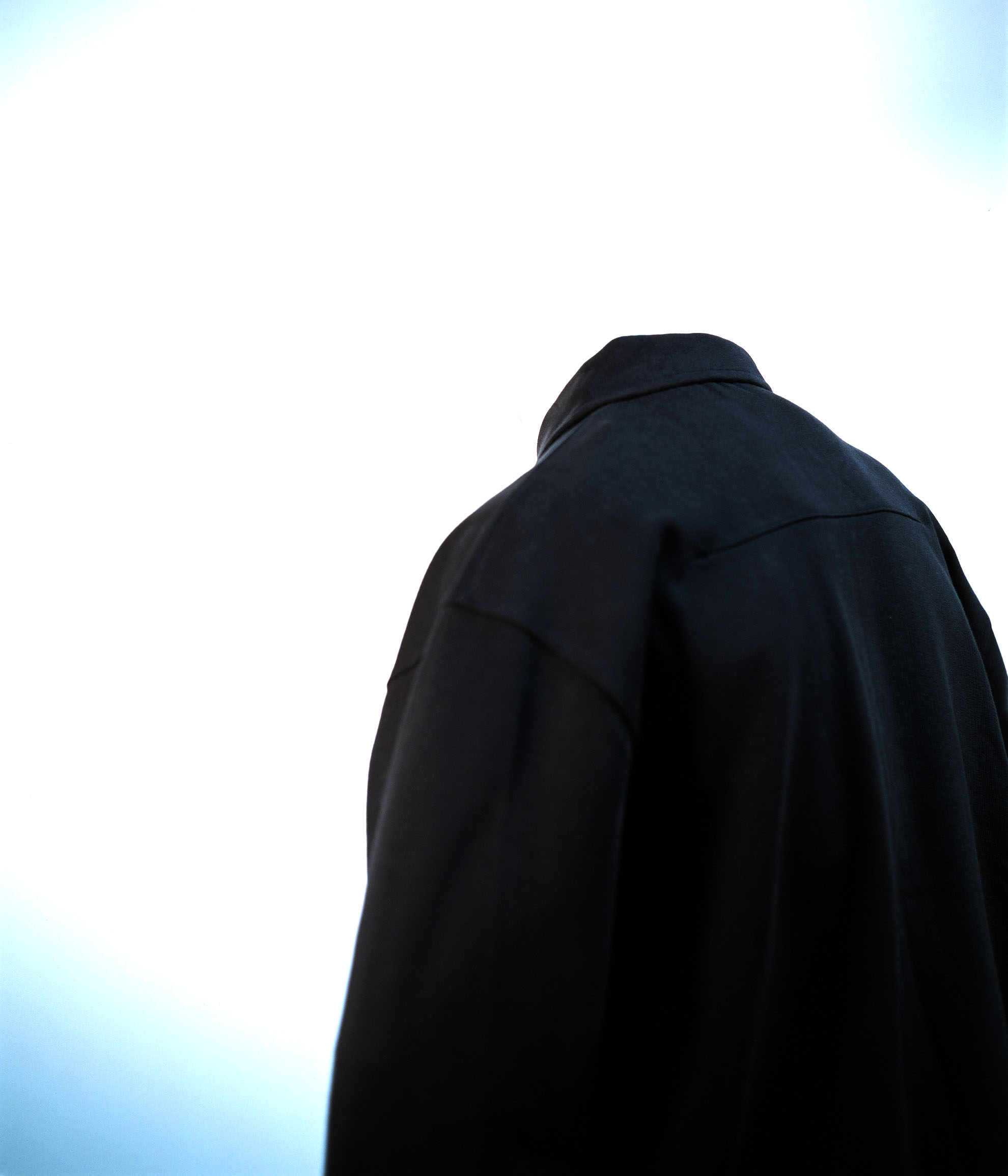 LEMAIRE JERSEY JACKET ANTHRACITE