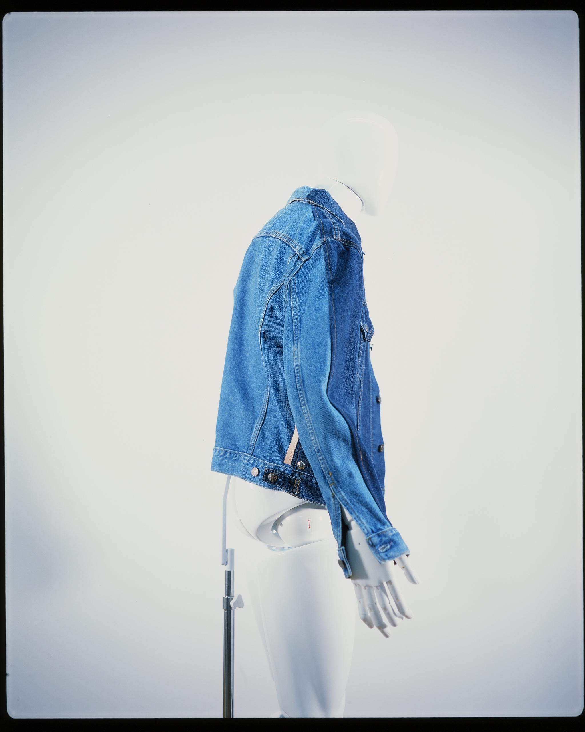 BLESS THE MARYAM NASSIR ZADEH JEAN JACKET LIGHTBLUE & BLUE