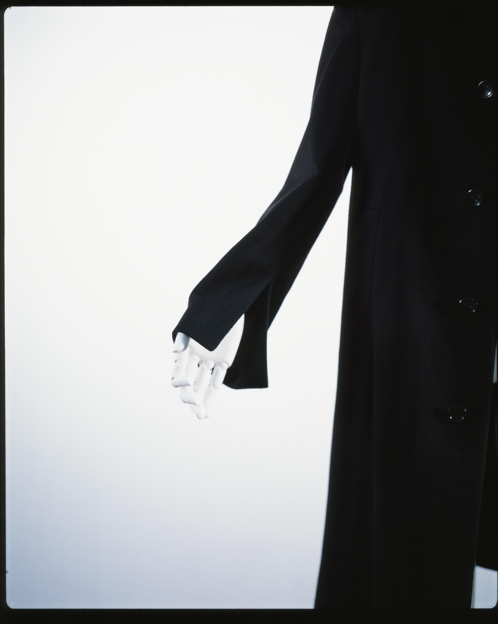SINGLE SPLIT COAT BLACK