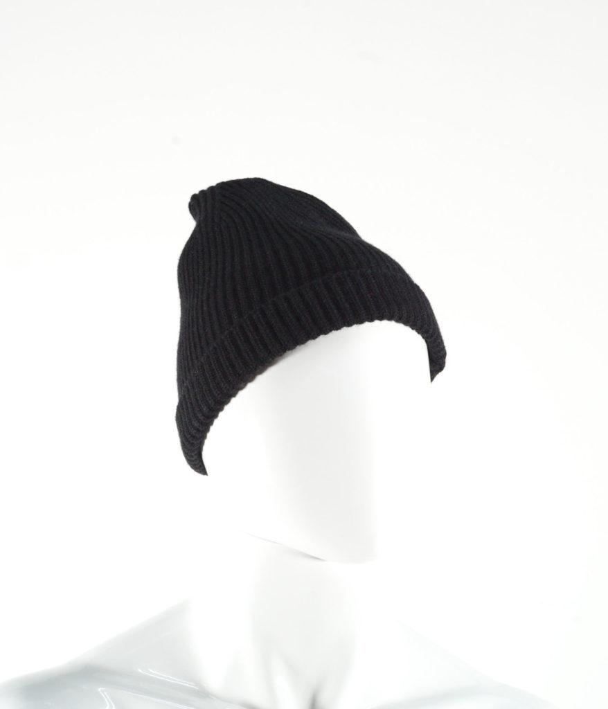 LEMAIRE WOOL HAT BLACK