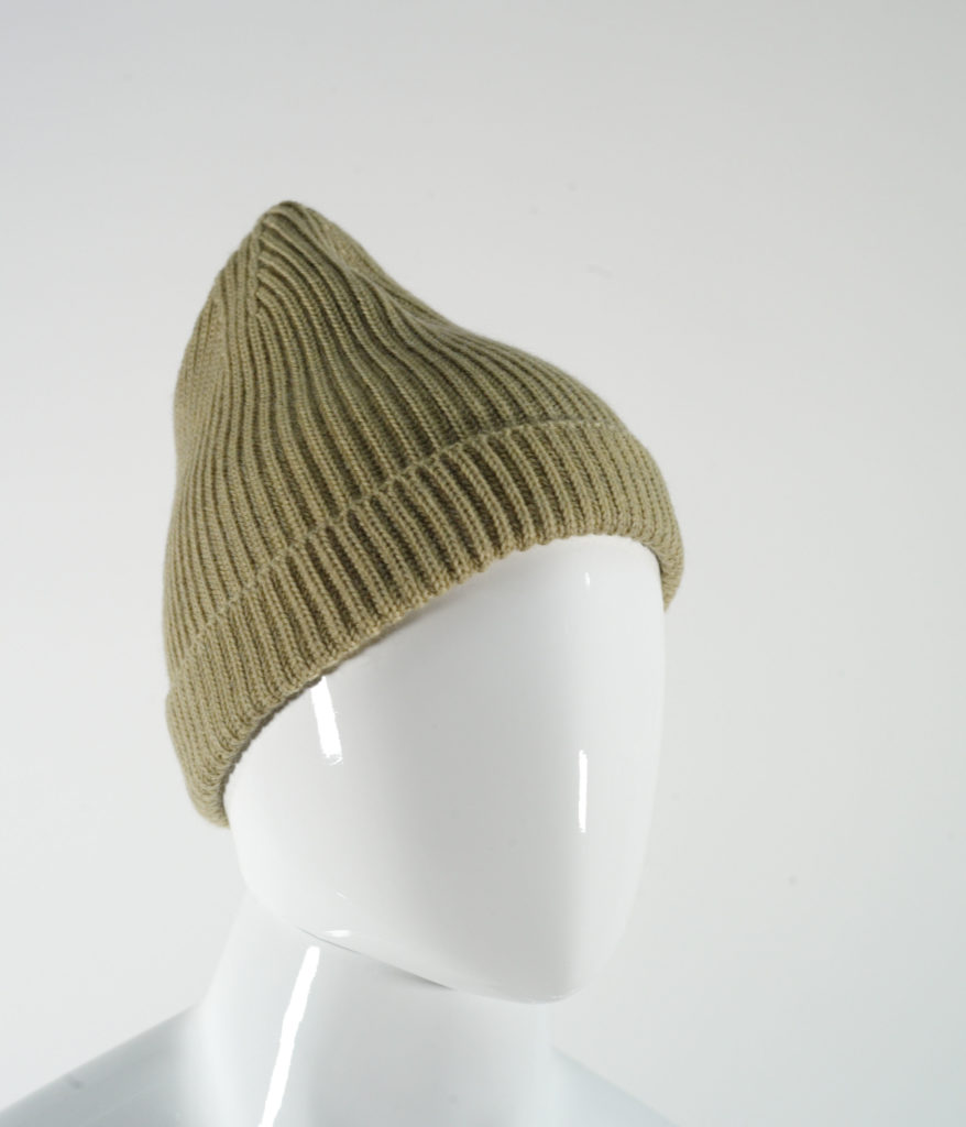 LEMAIRE WOOL HAT ALMOND GREEN