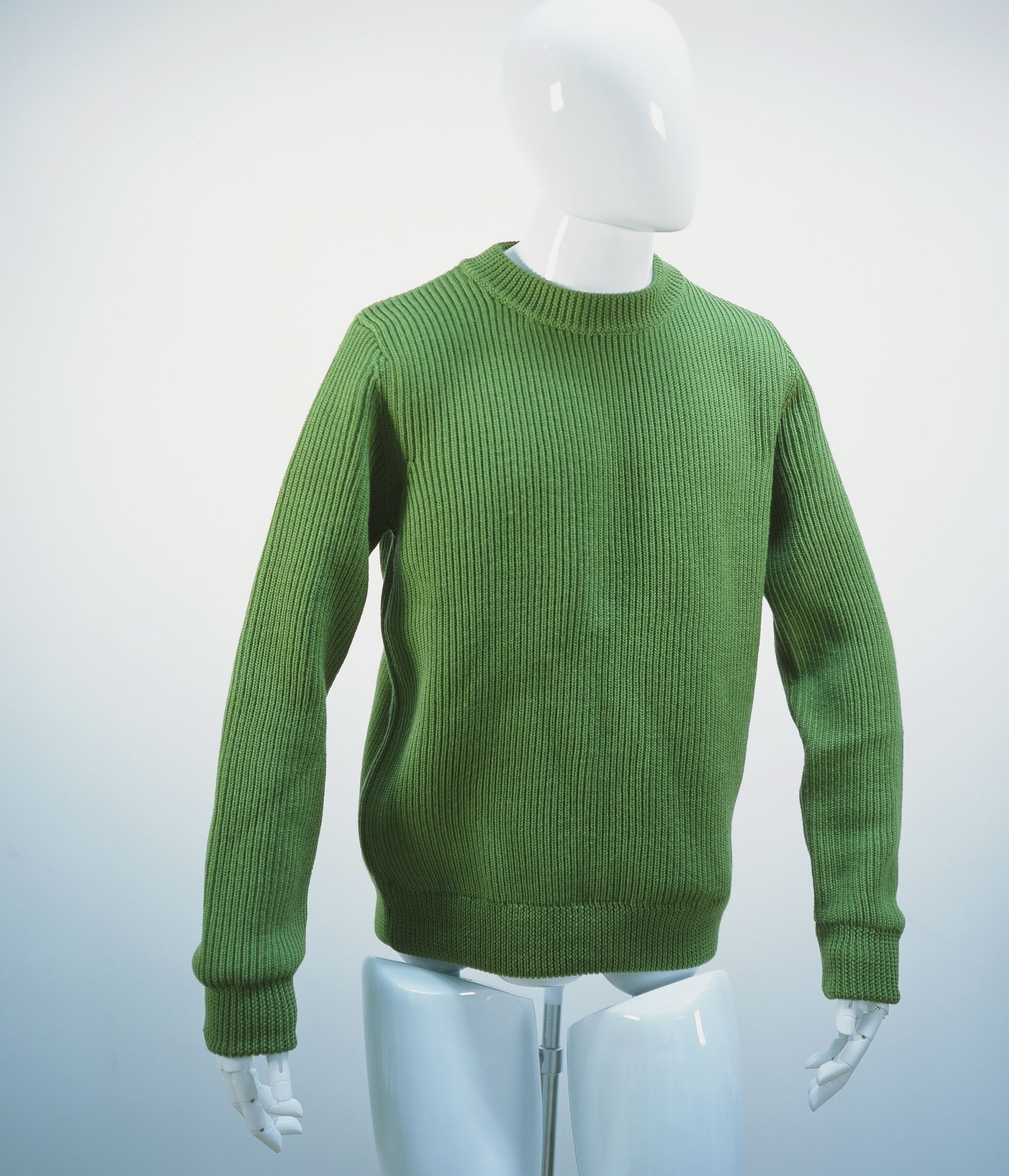 NAMACHEKO CLASSIC RIBBED KNIT GREEN