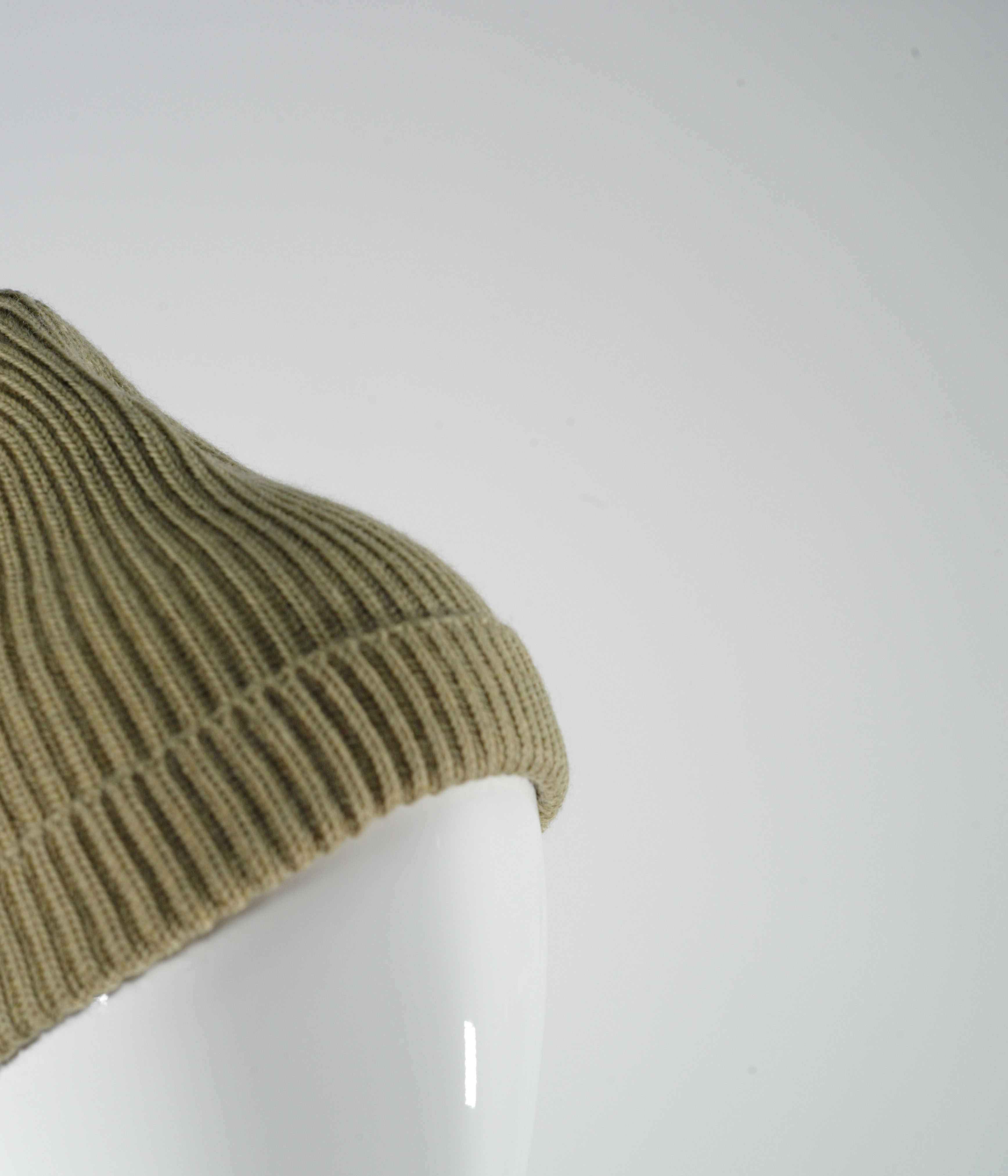 LEMAIRE WOOL HAT BLACK