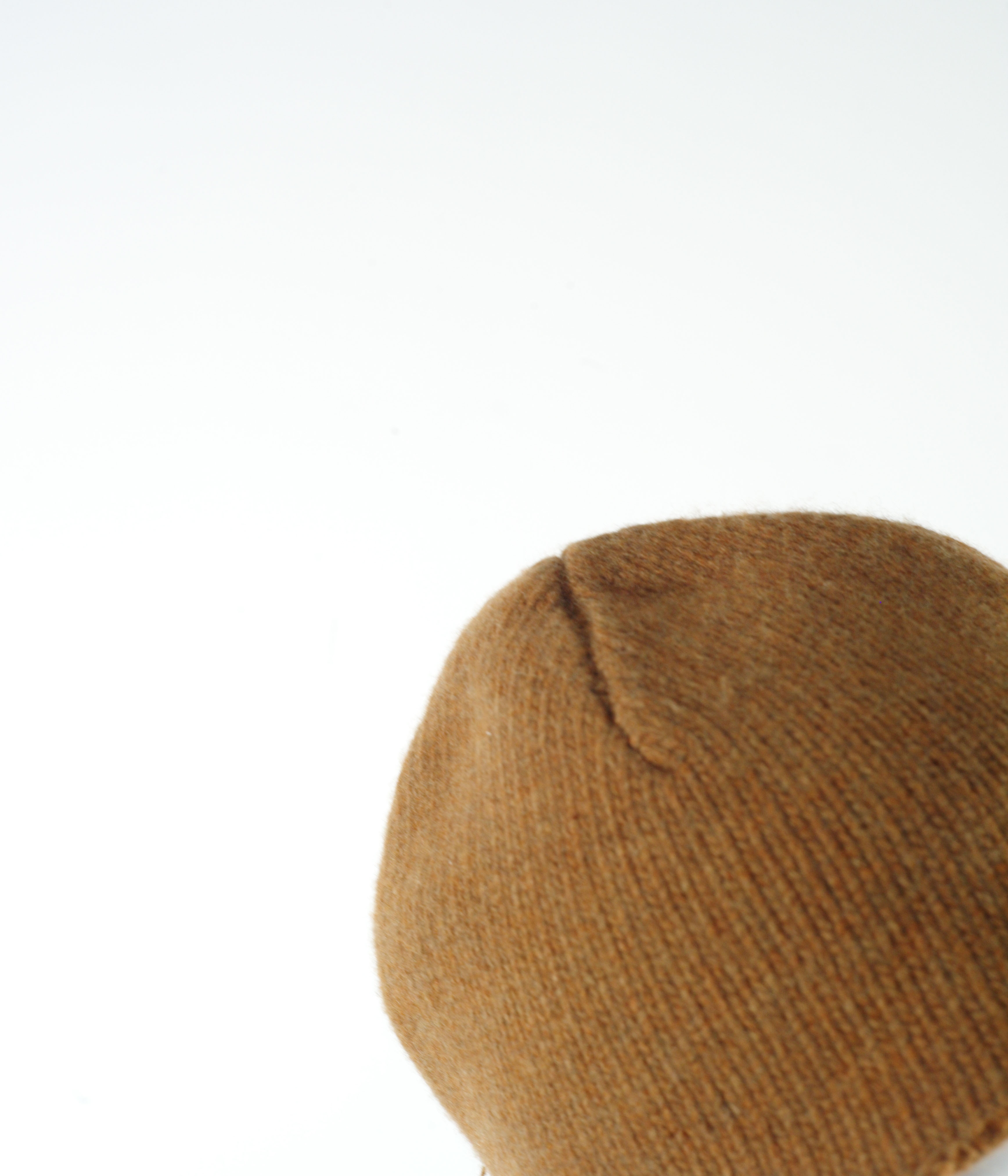 MARNI WOOL JERSEY HAT BROWN