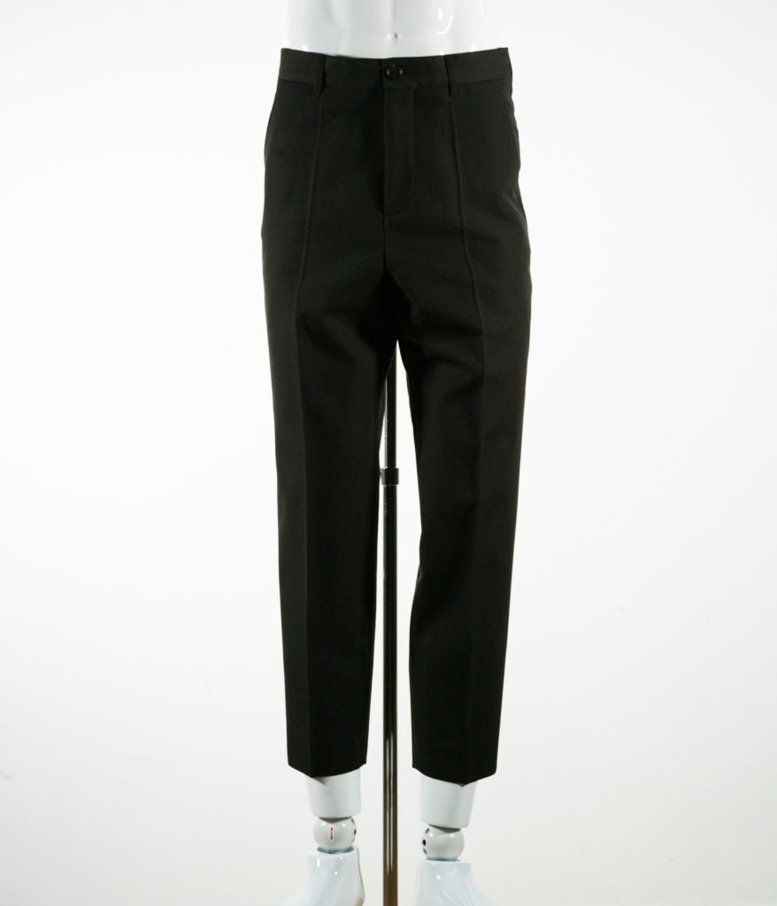MARNI WOOL GABARDINE TROUSER JUNGLE