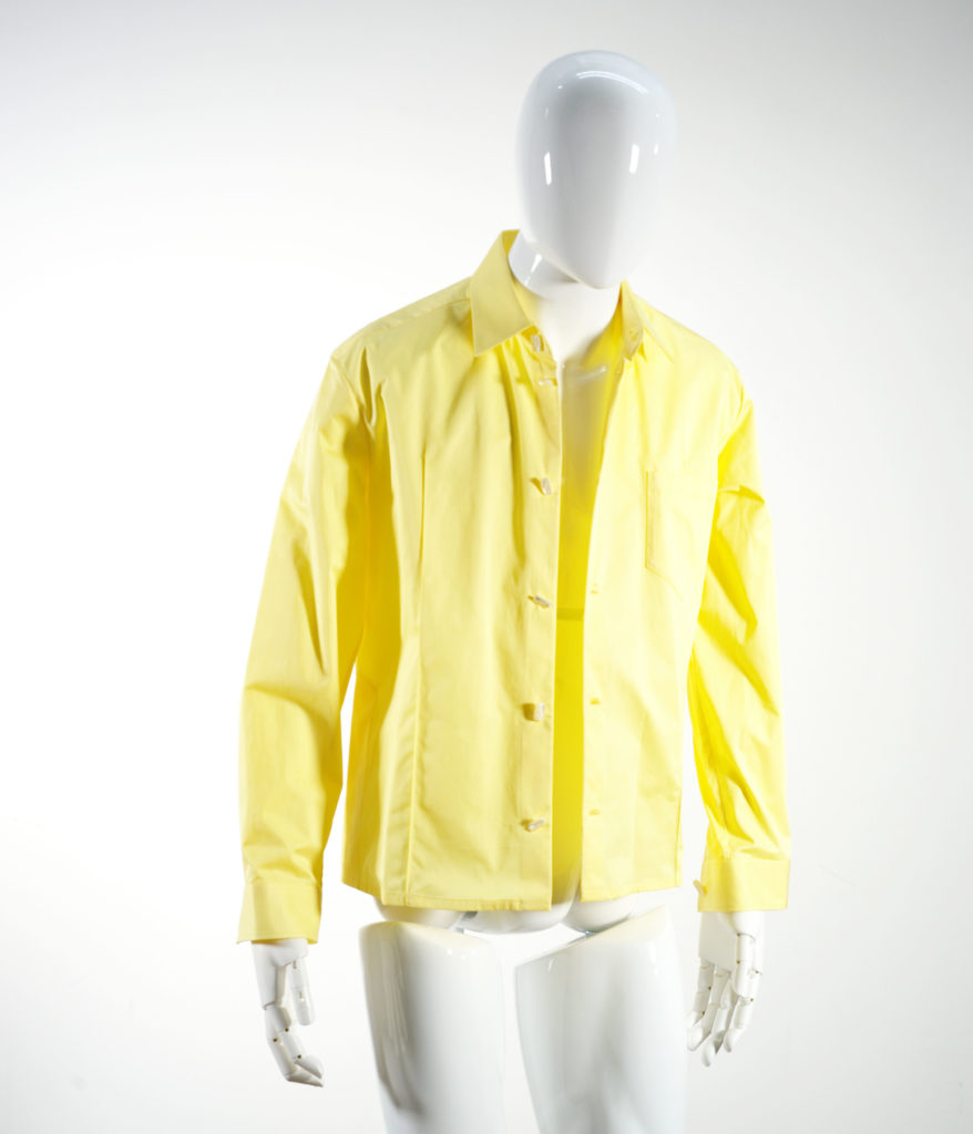 NAMACHEKO KAJAL SHIRT LEMON YELLOW