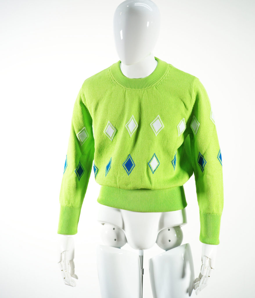 NAMACHEKO ALMAZ LONG SLEEVE GREEN MELA