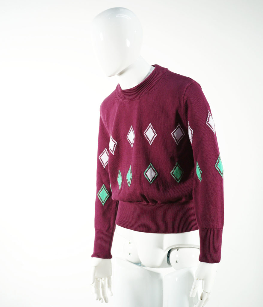 NAMACHEKO ALMAZ LONG SLEEVE LIGHT AUBERGINE