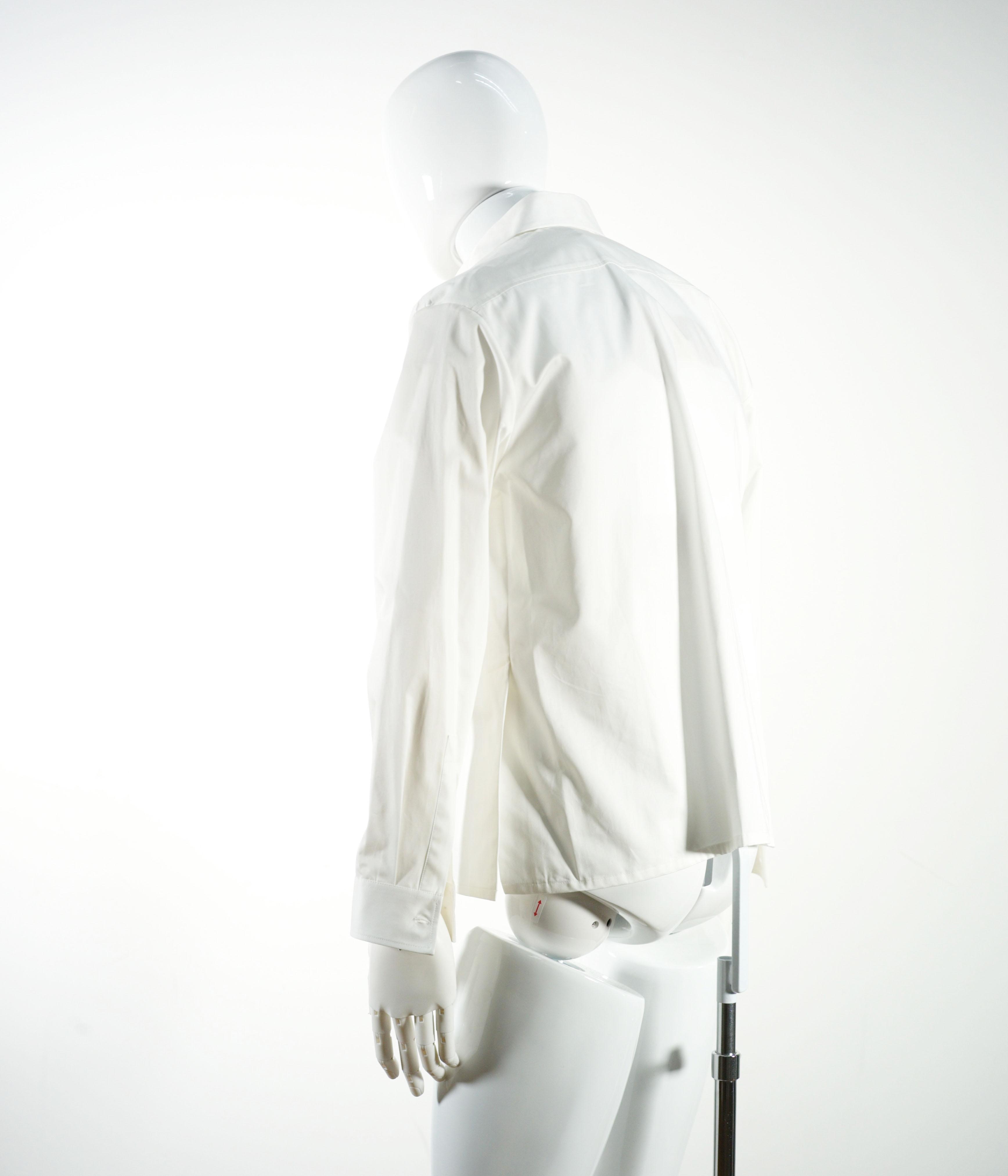 NAMACHEKO KAJAL SHIRT WHITE