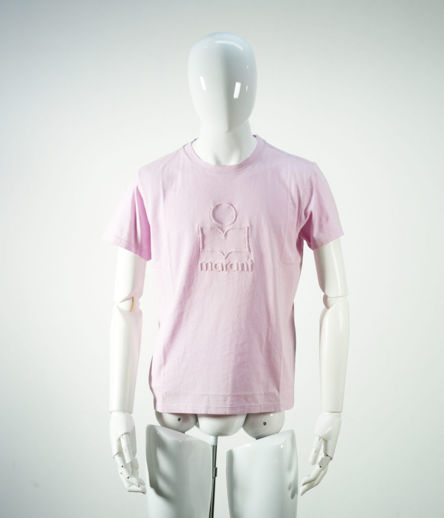 ISABEL MARANT ZAFFERH TEE SHIRT LIGHT PINK