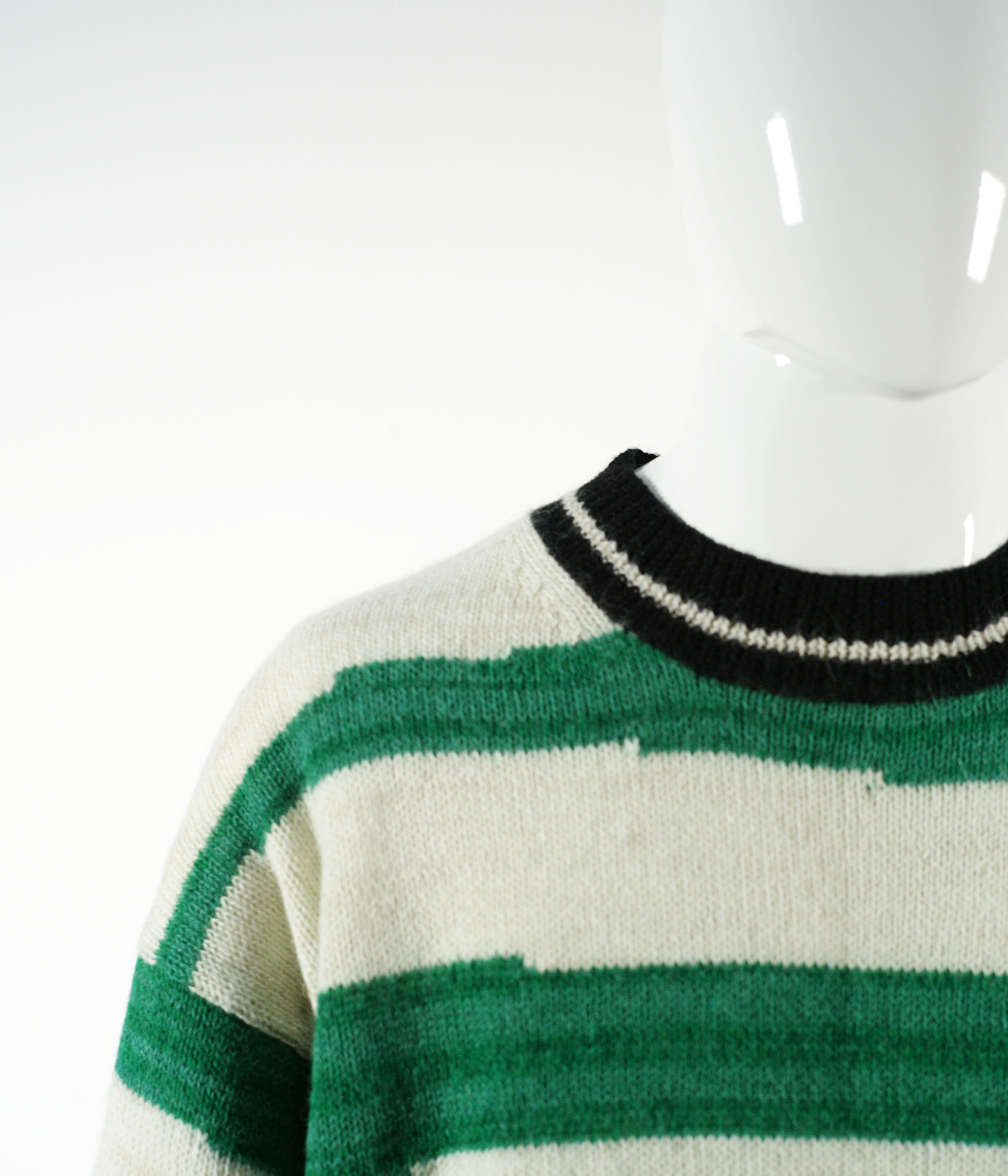 ISABEL MARANT SOLWY PULLOVER GREEN