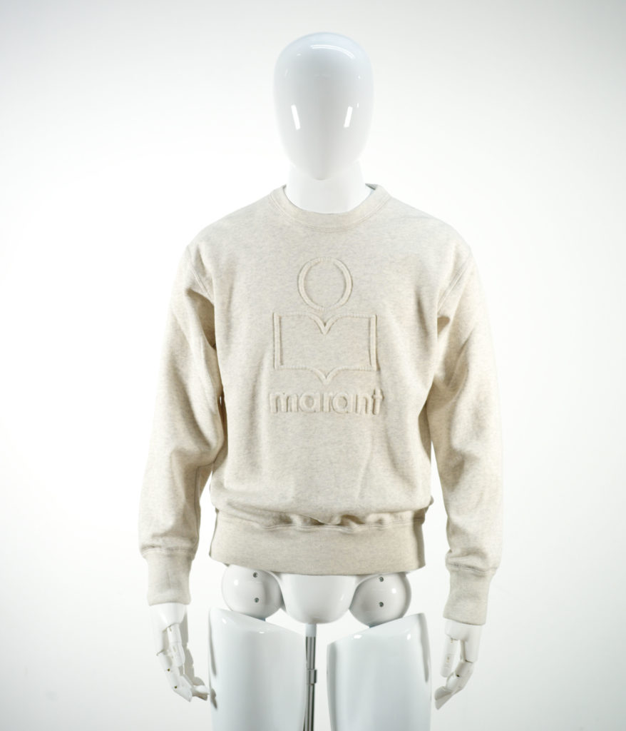 ISABEL MARANT MIKO SWEAT SHIRT FADED ECRU
