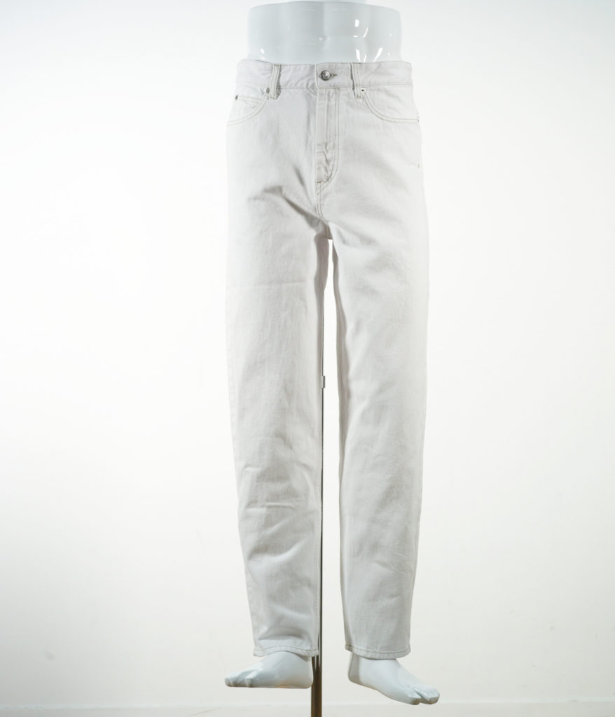 ISABEL MARANT LARSON PANTS FADED WHITE