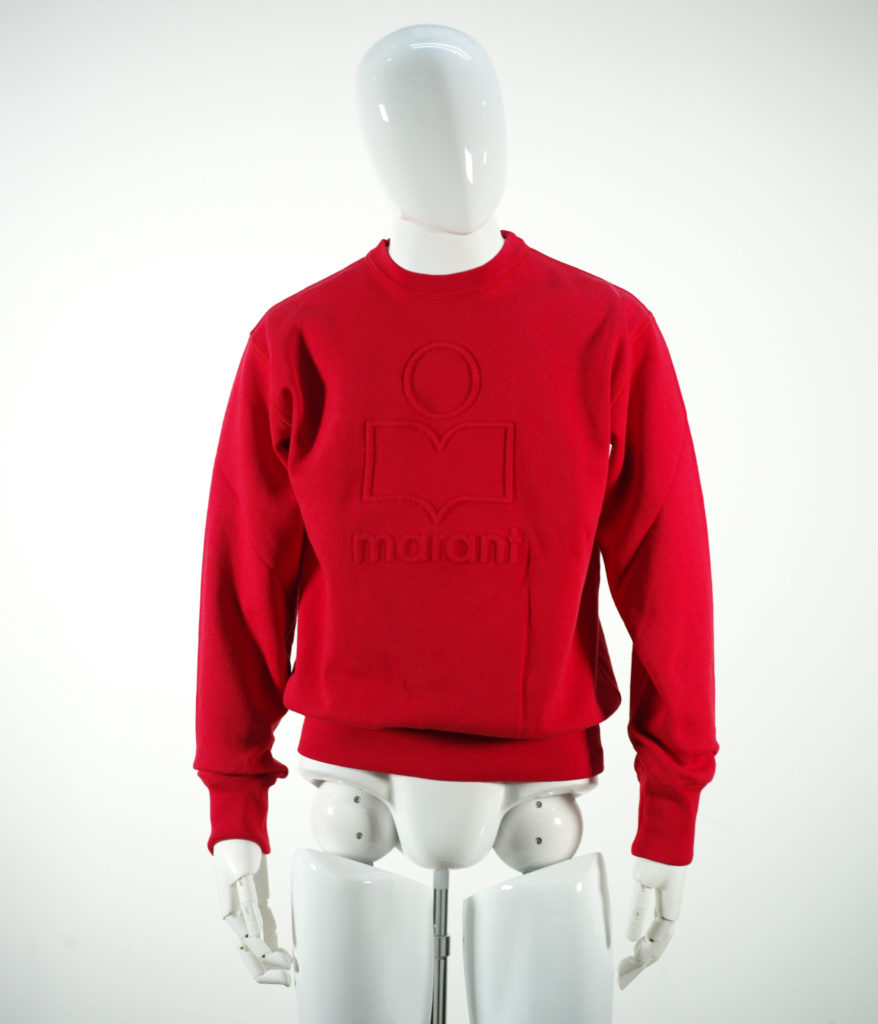 ISABEL MARANT MIKO SWEAT SHIRT RED