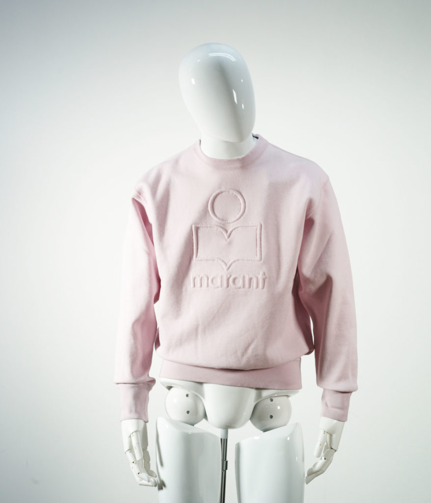 ISABEL MARANT MIKO SWEAT SHIRT LIGHT PINK
