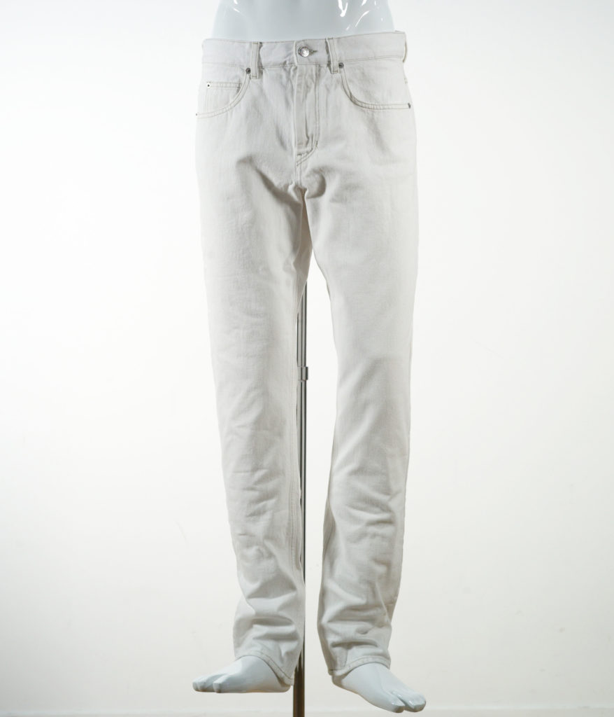 ISABEL MARANT JACK PANTS FADED WHITE