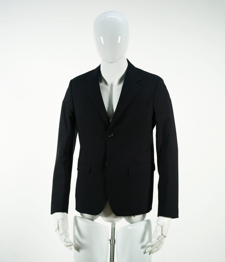 MARNI JACKET TROPICAL WOOL BLUE NAVY