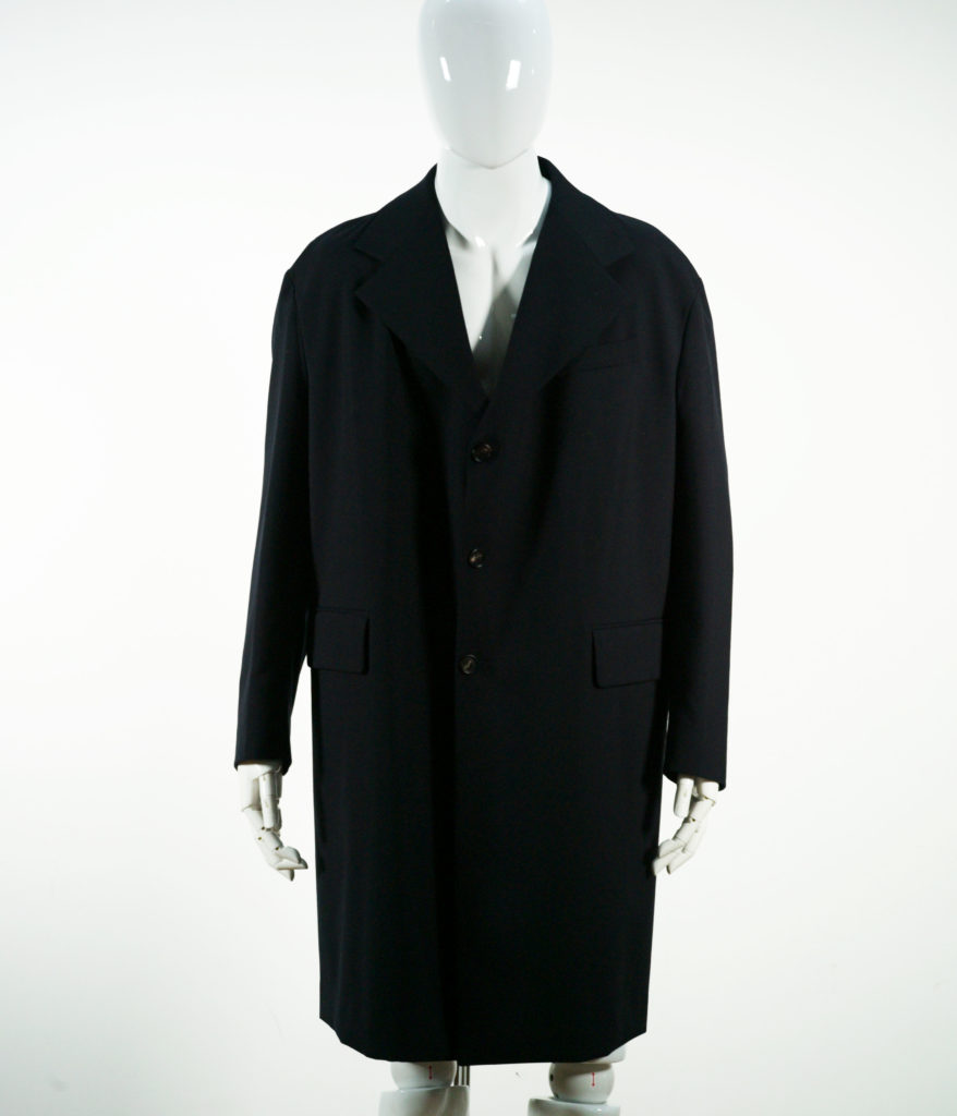 MARNI JACKET COAT TROPICAL WOOL BLUE NAVY