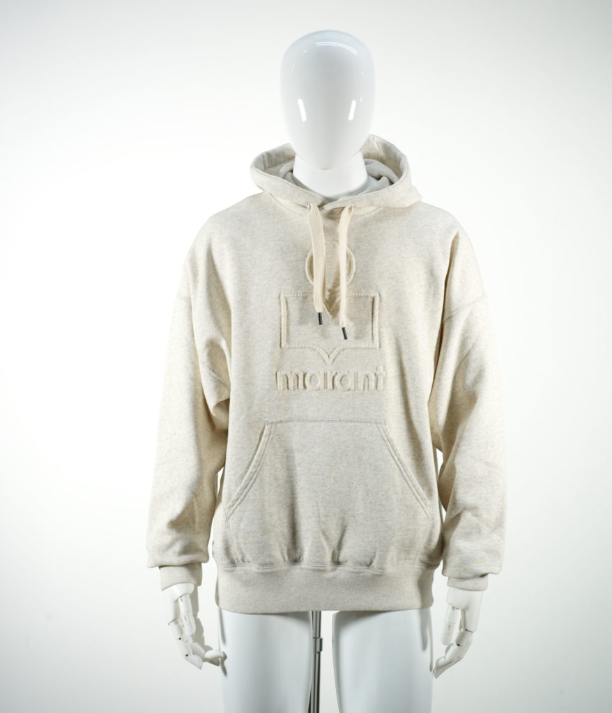 ISABEL MARANT MILEY SWEAT SHIRT ECRU