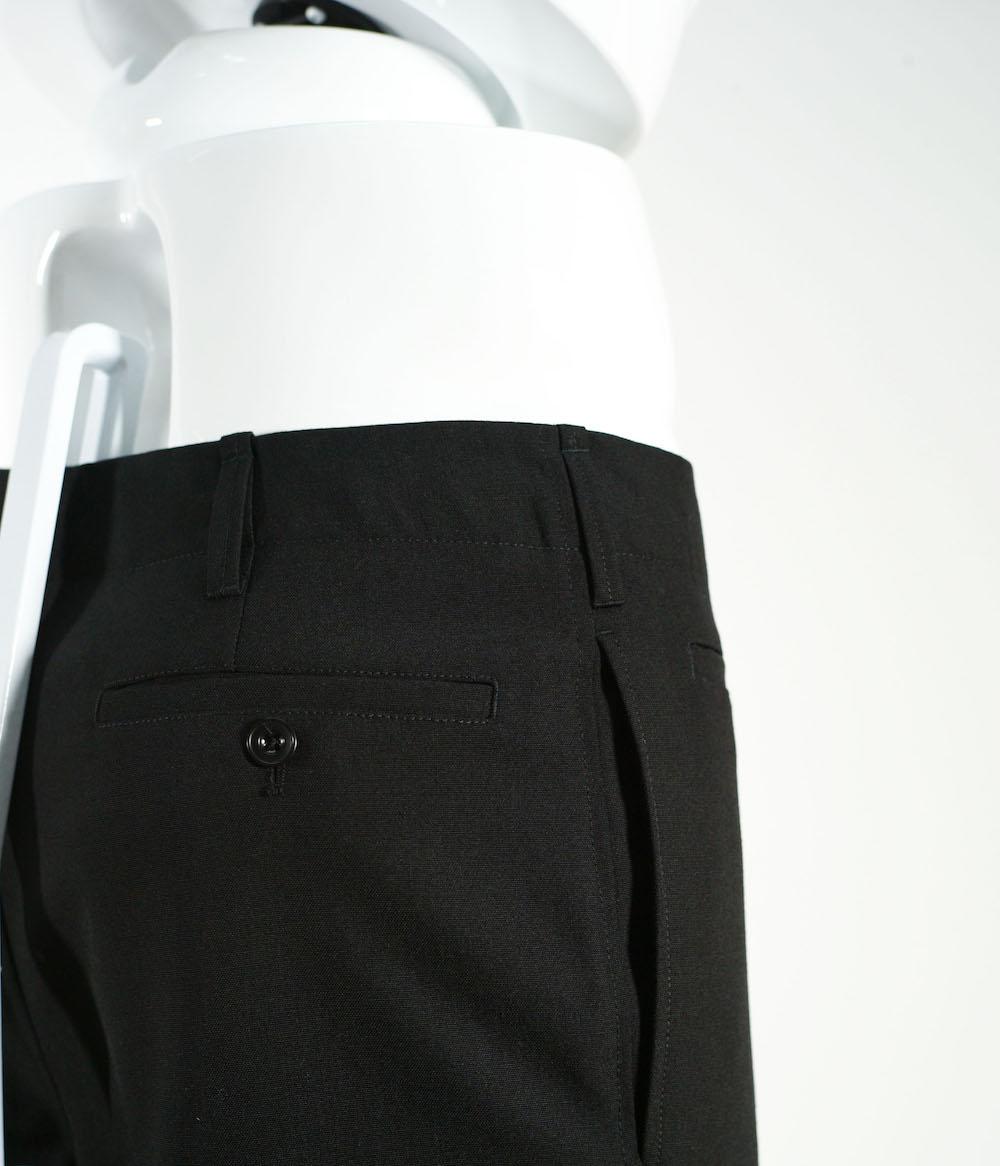 LEMAIRE SUIT PANTS BLACK