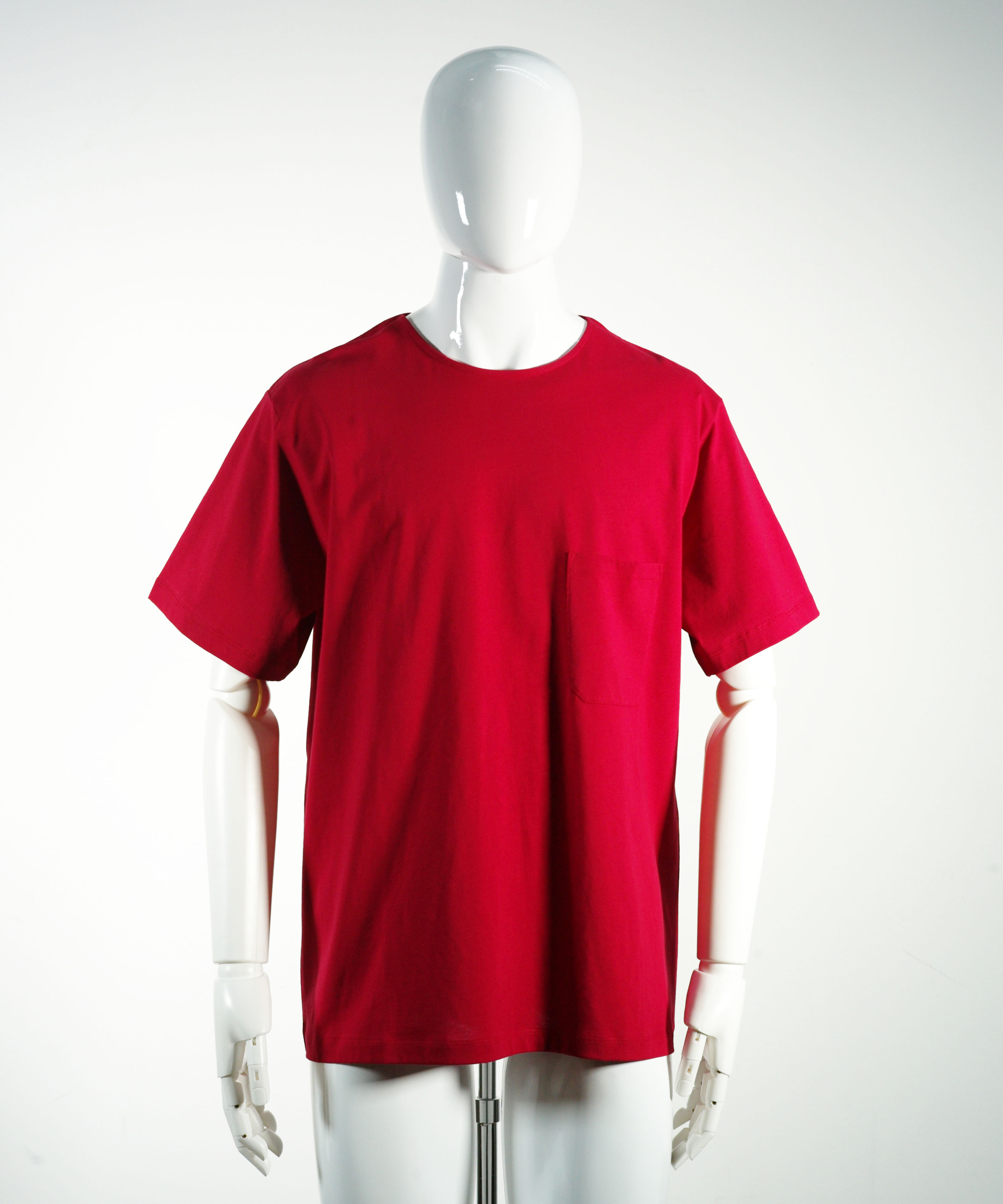 LEMAIRE SHORT SLEEVE T-SHIRT RASPBERRY
