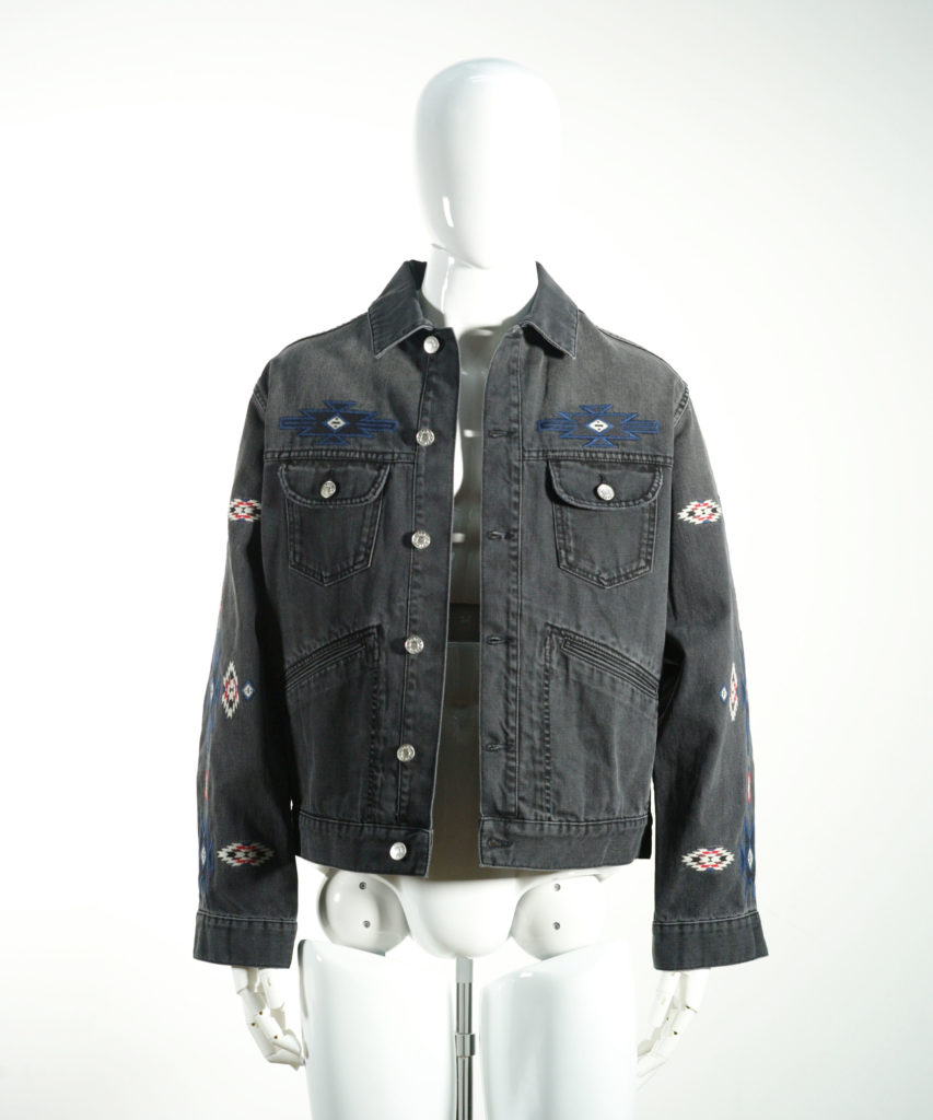 ISABEL MARANT JANGO JACKET FADED BLACK