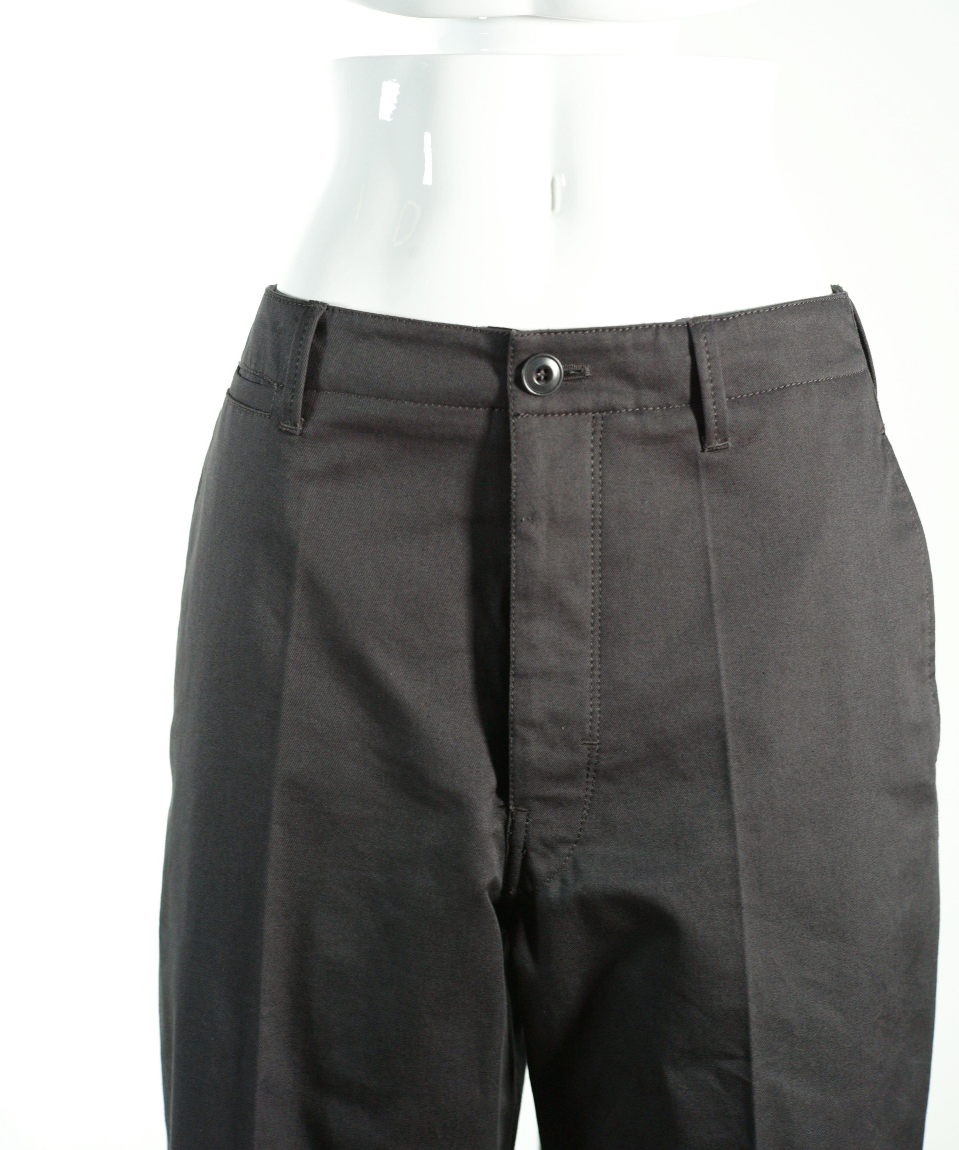 LEMAIRE CHINO PANTS BLACK