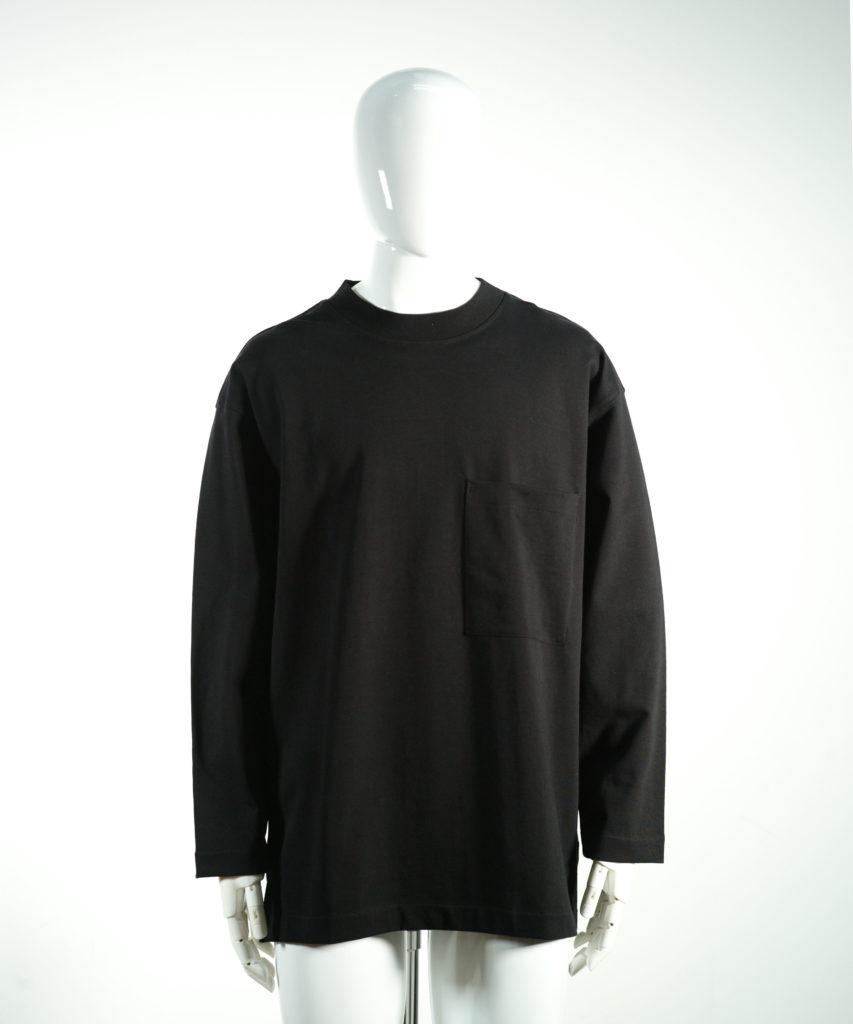 LEMAIRE LONG SLEEVE T-SHIRT BLACK