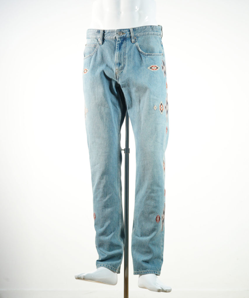 ISABEL MARANT JASPER PANTS BLUE