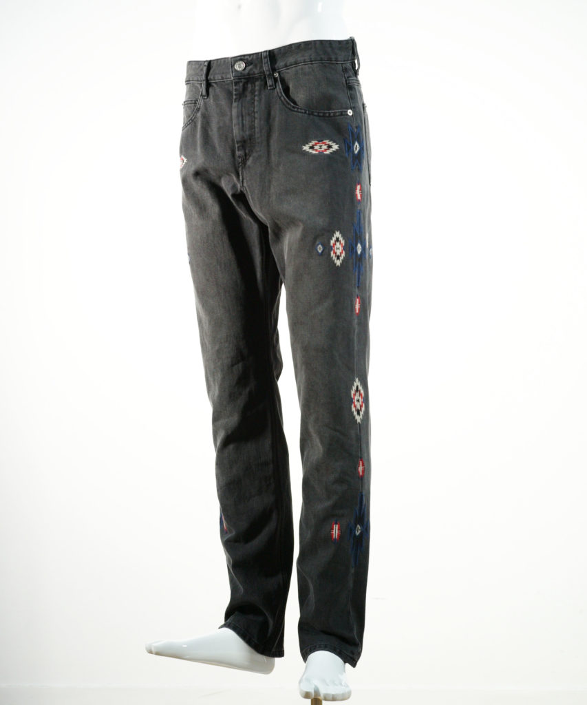 ISABEL MARANT JASPER PANTS FADED BLACK