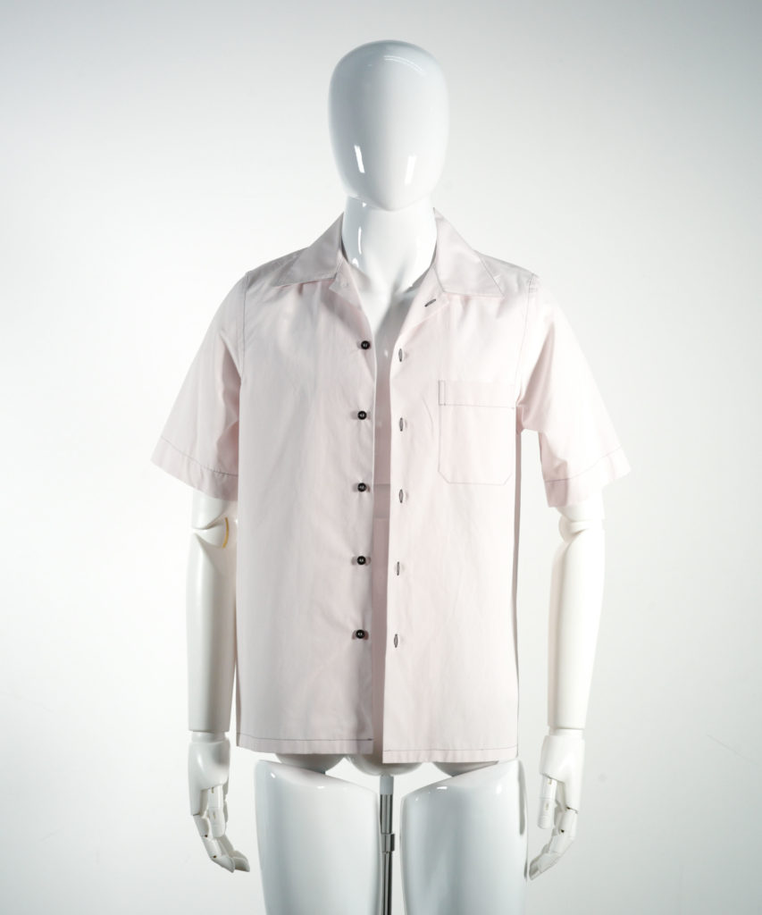MARNI COTTON POPLIN SHORT SLEEVE SHIRT PINK