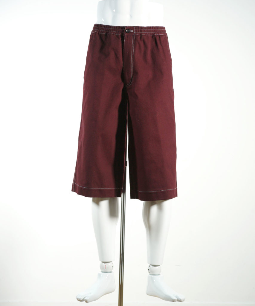 MARNI COTTON DRILL SHORT PANTS