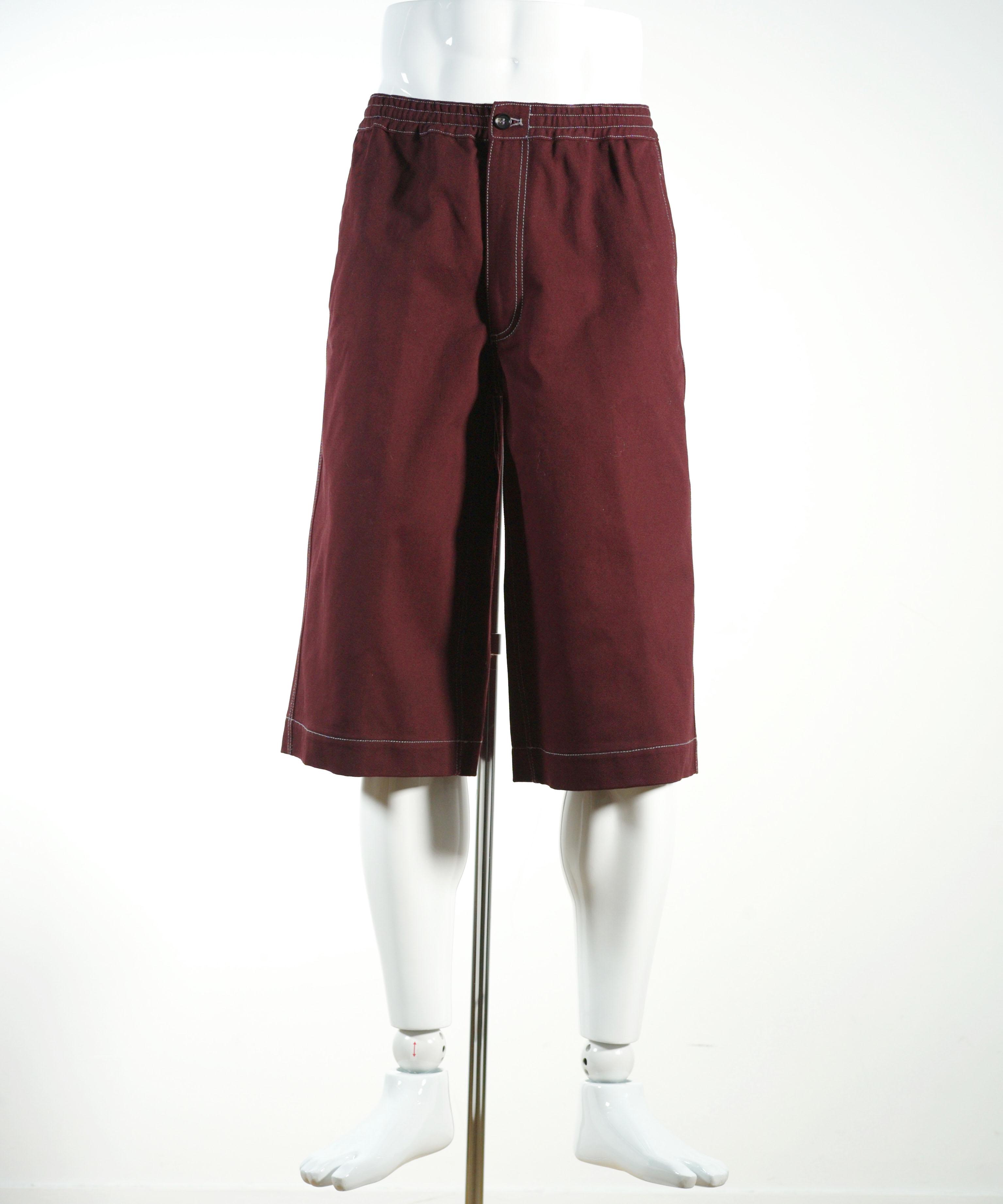 MARNI COTTON DRILL SHORT PANTS
