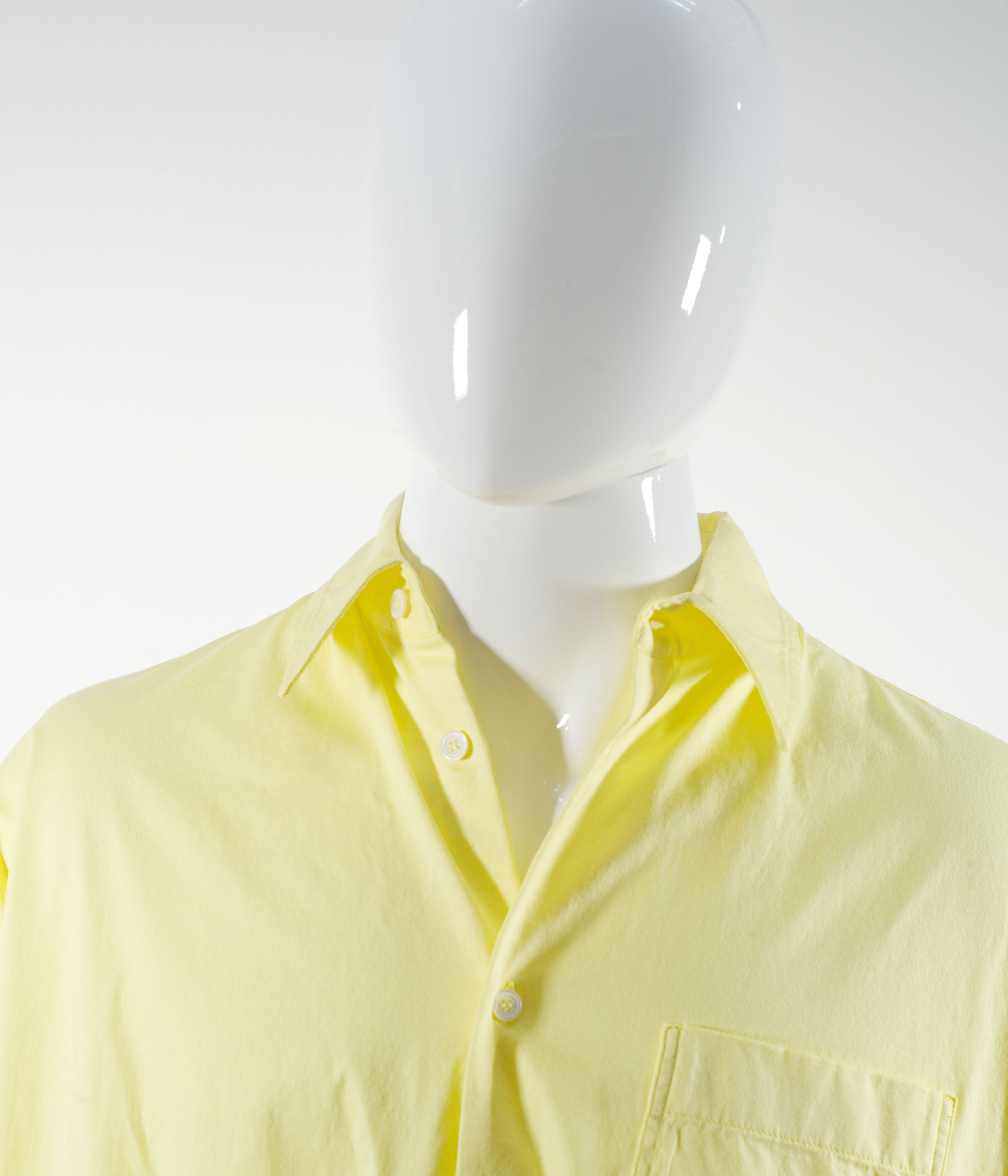 MARNI LIGHTWEIGHT JERSEY SHIRT YELLOW