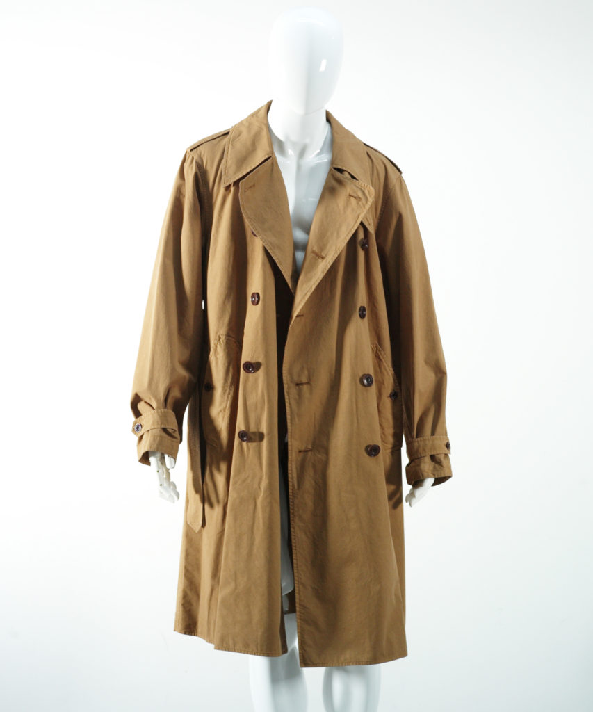 LEMAIRE TRENCH-COAT TOASTED COCONUT