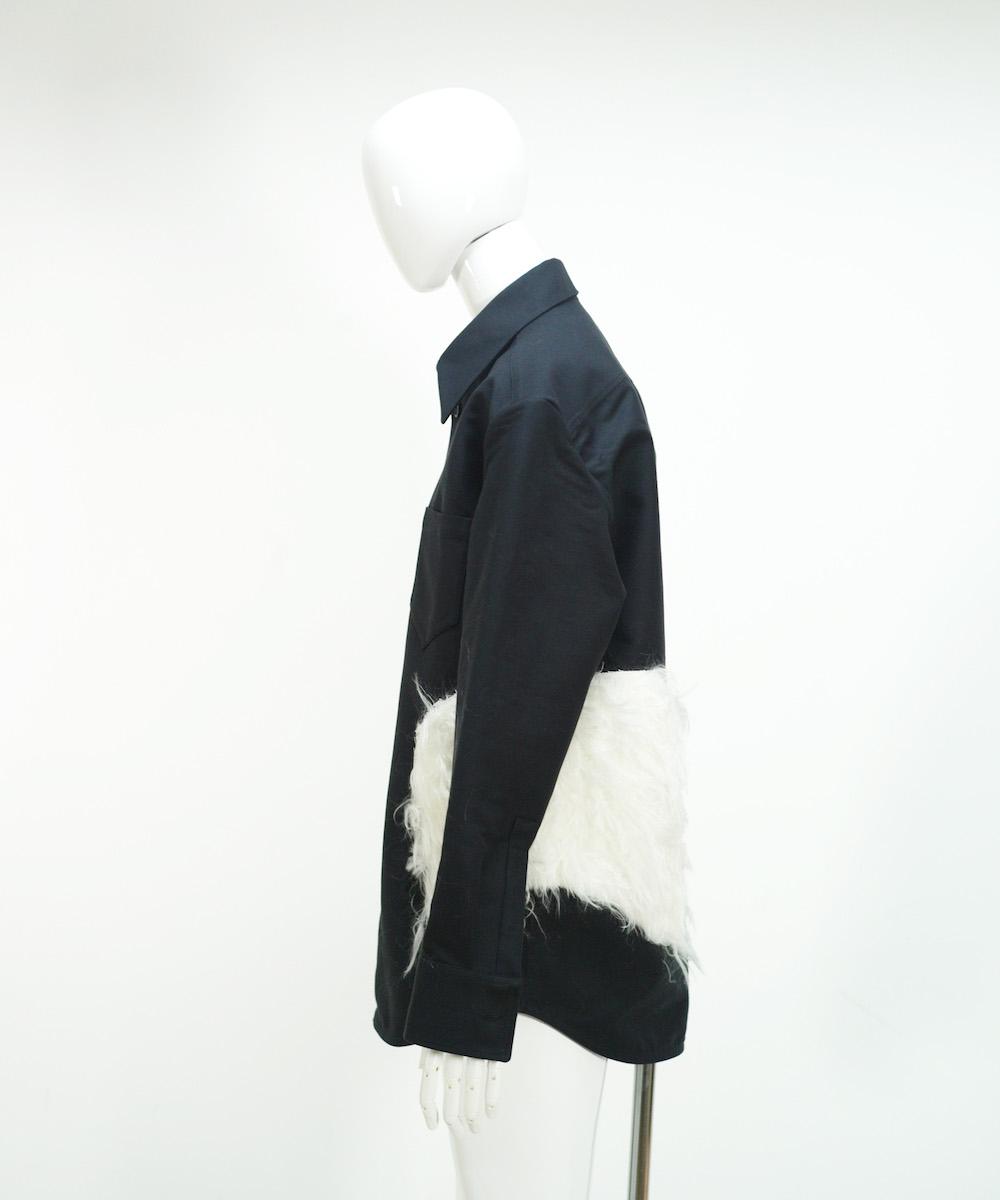 NAMACHEKO LEYLIM SHIRT BLACK
