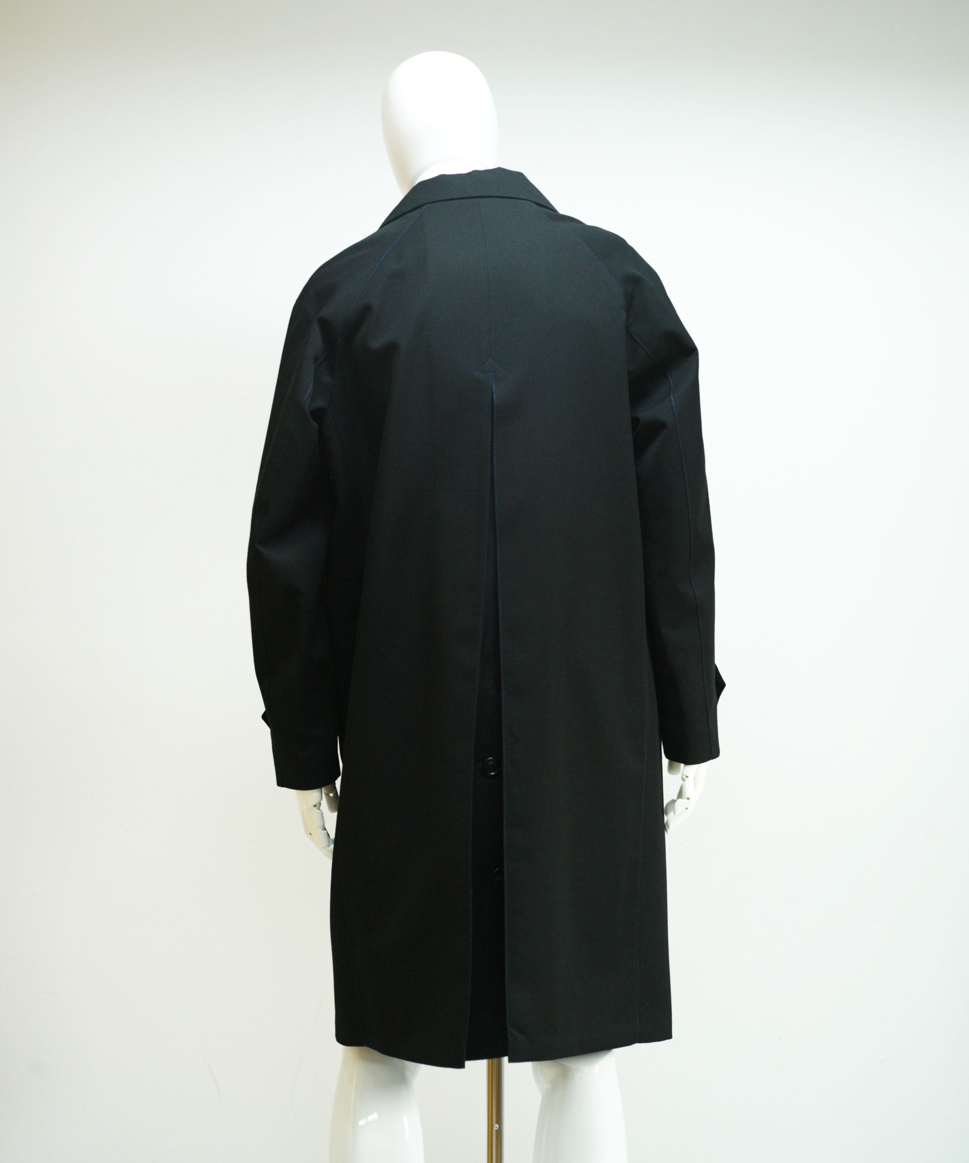 MARNI WOOL KARSEY COAT BLACK