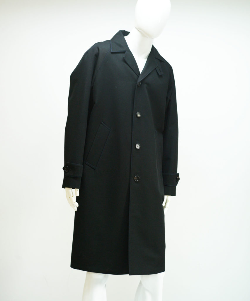 MARNI WOOL KARSEY COAT BLACK