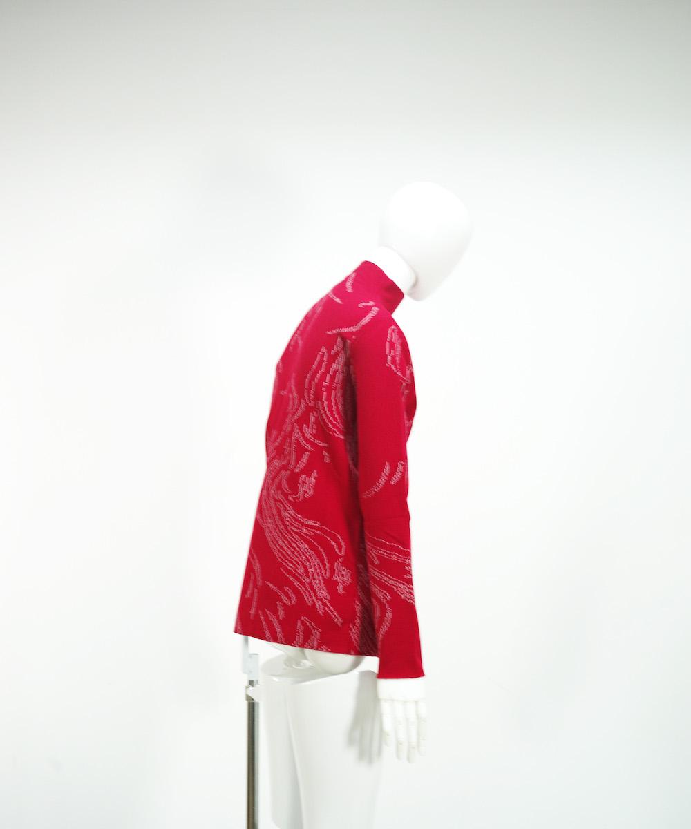 NAMACHEKO NYAS LONGSLEEVE RED/WHITE